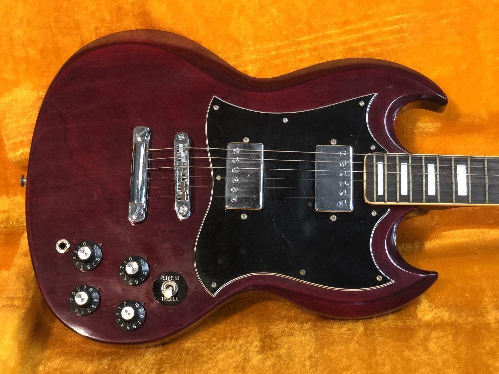 ■□ 激レア Greco / グレコ SG-360 Japan Vintage エレキギター / ジャパンヴィンテージ 日本製 □■_画像4
