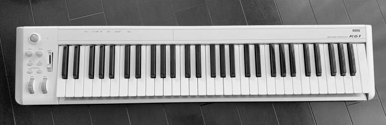 KORG K61 USB-MIDI keyboard