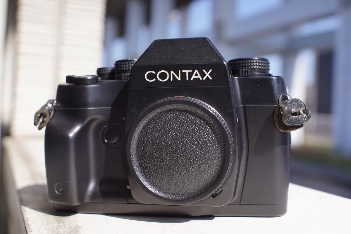 【動作確認】contax RX