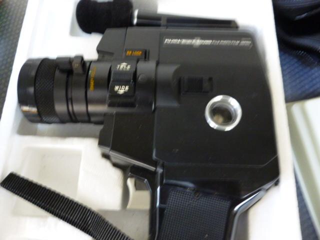 FUJICA 8mm P500 SOUND ほぼ未使用_画像3
