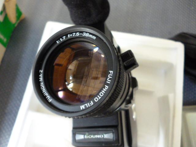 FUJICA 8mm P500 SOUND ほぼ未使用_画像7