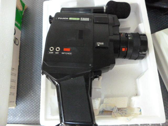 FUJICA 8mm P500 SOUND ほぼ未使用_画像5