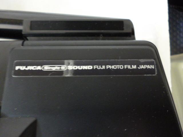 FUJICA 8mm P500 SOUND ほぼ未使用_画像8