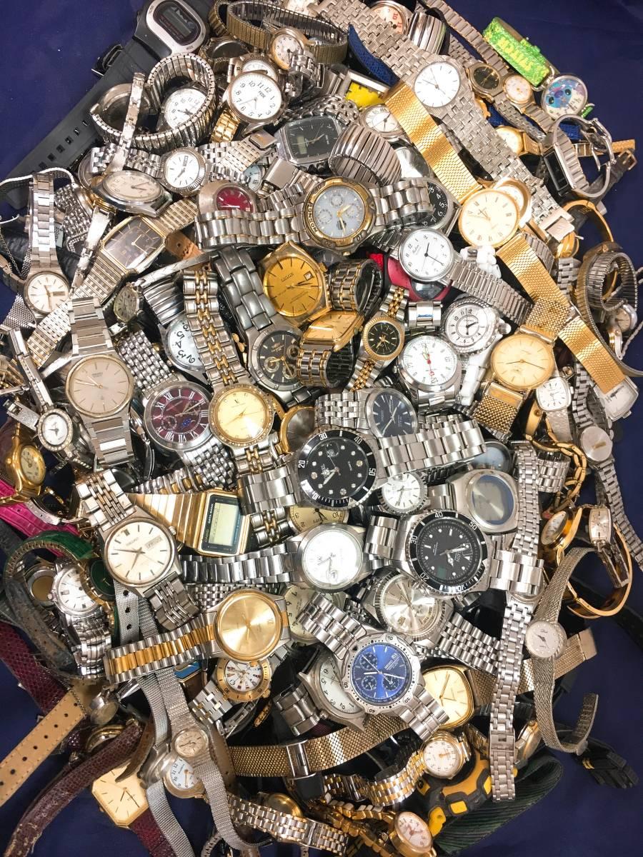 ◆ 腕時計 大量 200個以上 SEIKO RADO LONGINES G-SHOCK CASIO CITIZEN 含 メンズ レディース クォーツ 手巻き 自動巻き まとめ売り セット