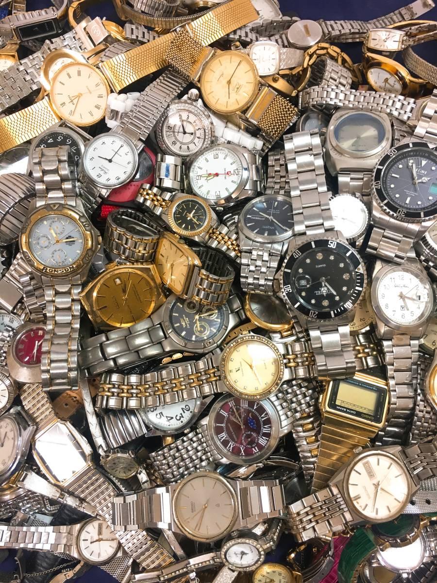 ◆ 腕時計 大量 200個以上 SEIKO RADO LONGINES G-SHOCK CASIO CITIZEN 含 メンズ レディース クォーツ 手巻き 自動巻き まとめ売り セット_画像2