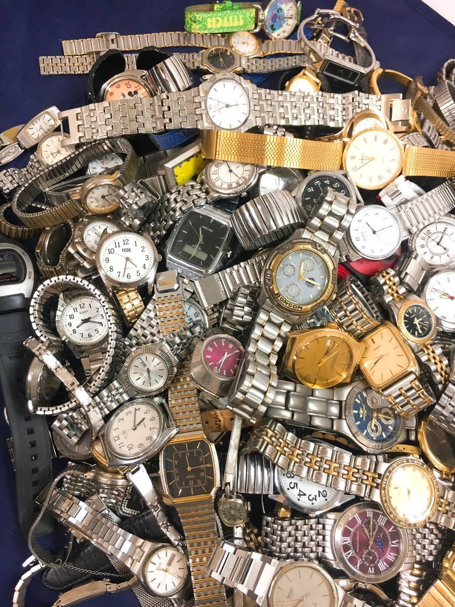 ◆ 腕時計 大量 200個以上 SEIKO RADO LONGINES G-SHOCK CASIO CITIZEN 含 メンズ レディース クォーツ 手巻き 自動巻き まとめ売り セット_画像3