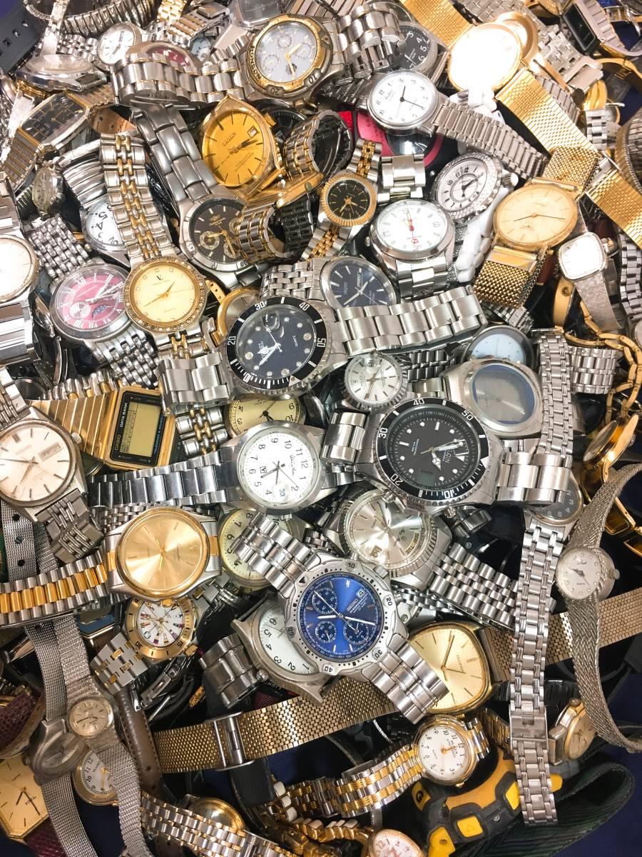 ◆ 腕時計 大量 200個以上 SEIKO RADO LONGINES G-SHOCK CASIO CITIZEN 含 メンズ レディース クォーツ 手巻き 自動巻き まとめ売り セット_画像4