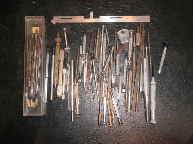 ③腕時計内部機構用工具など色々