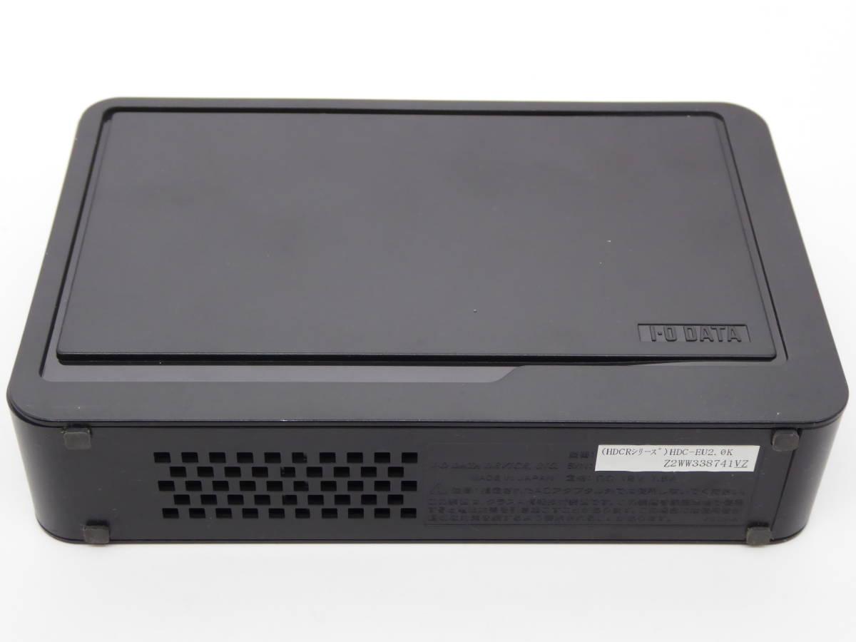 I-O DATA USB接続 外付型ハードディスク HDC-EUKシリーズ HDC-EU2.0K 2.0TB_画像5