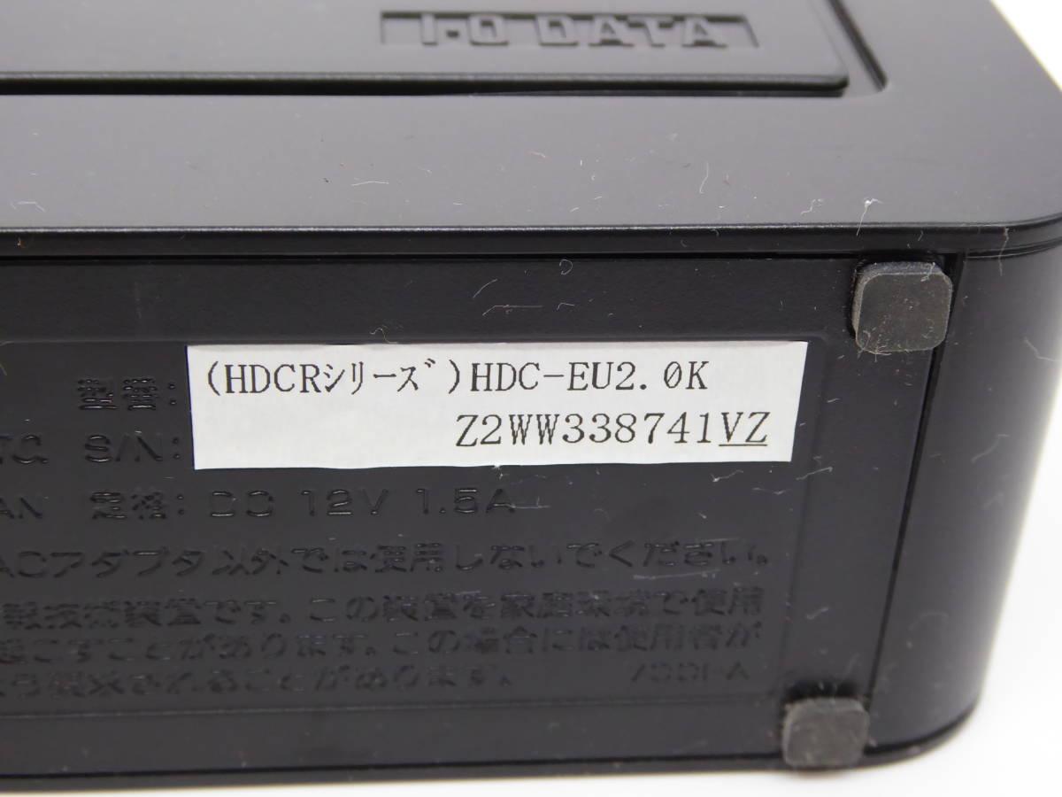 I-O DATA USB接続 外付型ハードディスク HDC-EUKシリーズ HDC-EU2.0K 2.0TB_画像4
