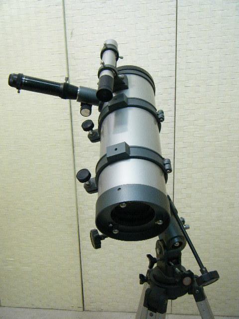 3あ23●天体望遠鏡 ASTRONOMICAL TELESCOPE D=114㎜ F=1000㎜ 1・5X H126~177㎝_画像3