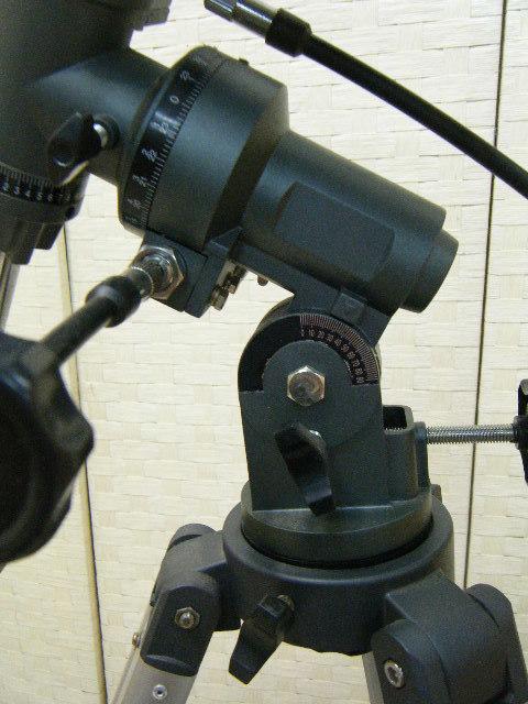 3あ23●天体望遠鏡 ASTRONOMICAL TELESCOPE D=114㎜ F=1000㎜ 1・5X H126~177㎝_画像6