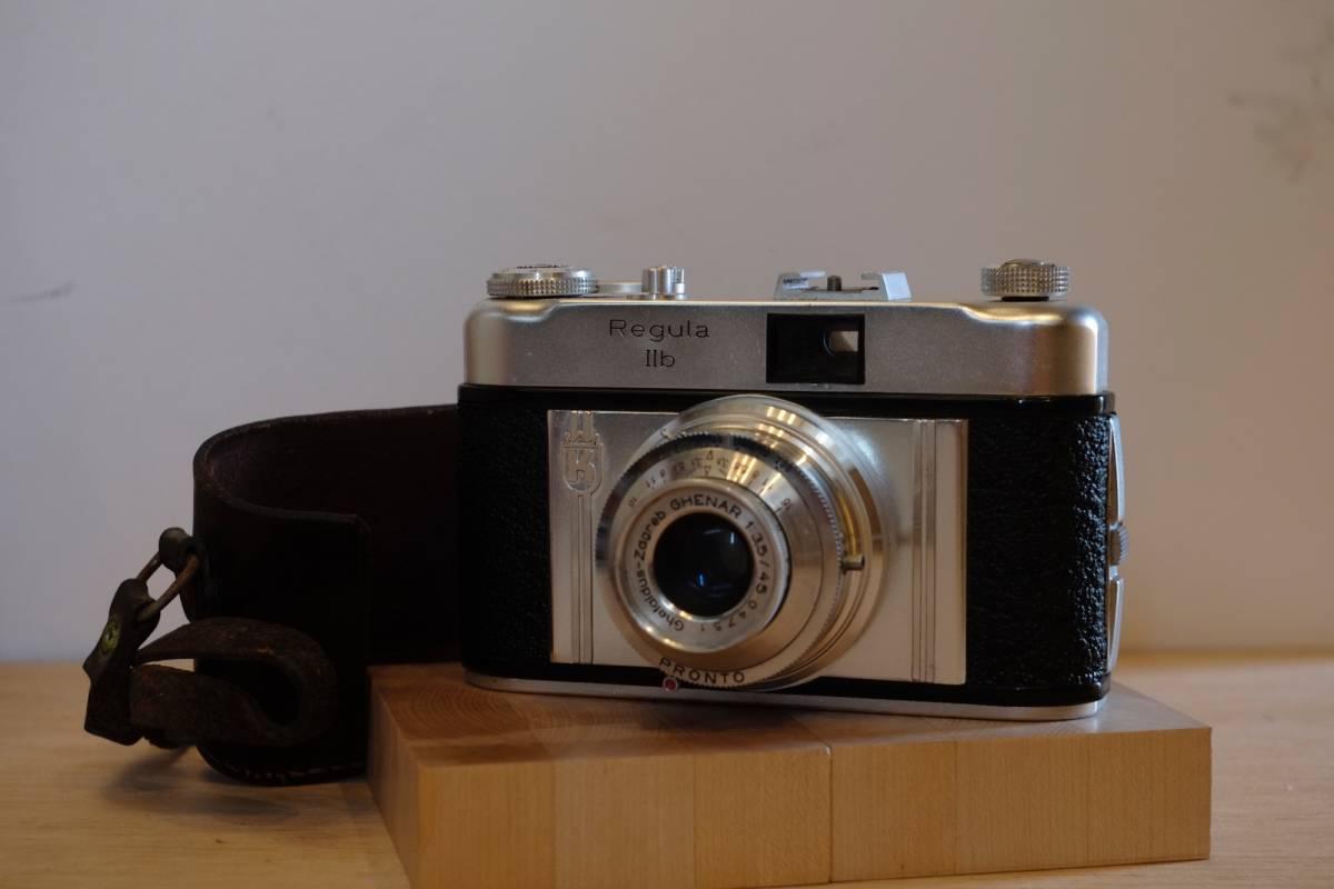 (珍品・実働美品) Ghetaldus-Zagreb Ghenar 45mm f/3.5 ユーゴスラビア製レンズ付 1950年代 King KG Regula IIb レグラ ヴィンテージ_画像2