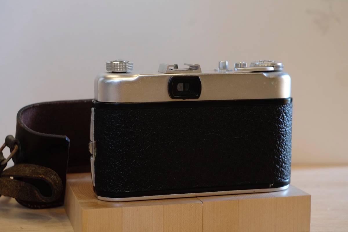 (珍品・実働美品) Ghetaldus-Zagreb Ghenar 45mm f/3.5 ユーゴスラビア製レンズ付 1950年代 King KG Regula IIb レグラ ヴィンテージ_画像4