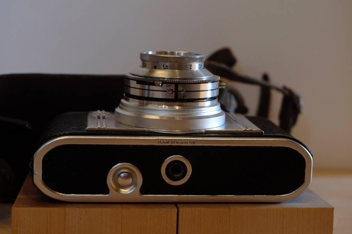 (珍品・実働美品) Ghetaldus-Zagreb Ghenar 45mm f/3.5 ユーゴスラビア製レンズ付 1950年代 King KG Regula IIb レグラ ヴィンテージ_画像5