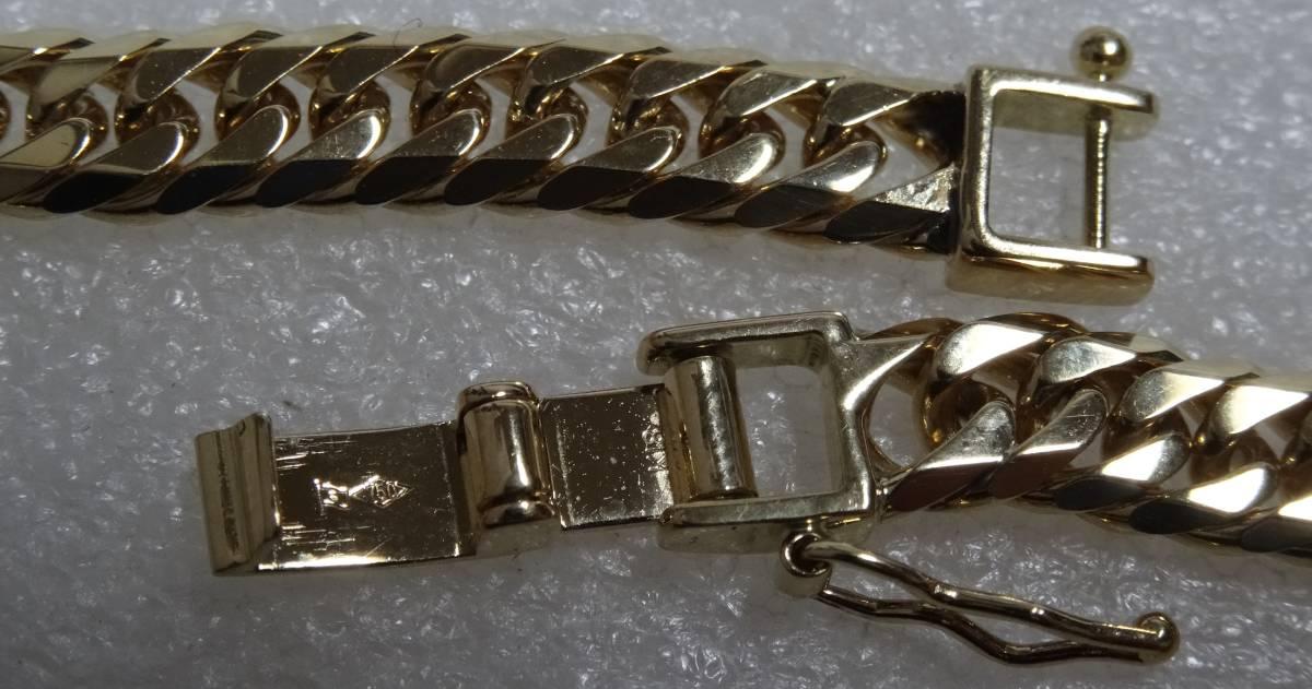 喜平 ネックレス K18 約50g 50cm 18金 6面 造幣局印 750_画像4