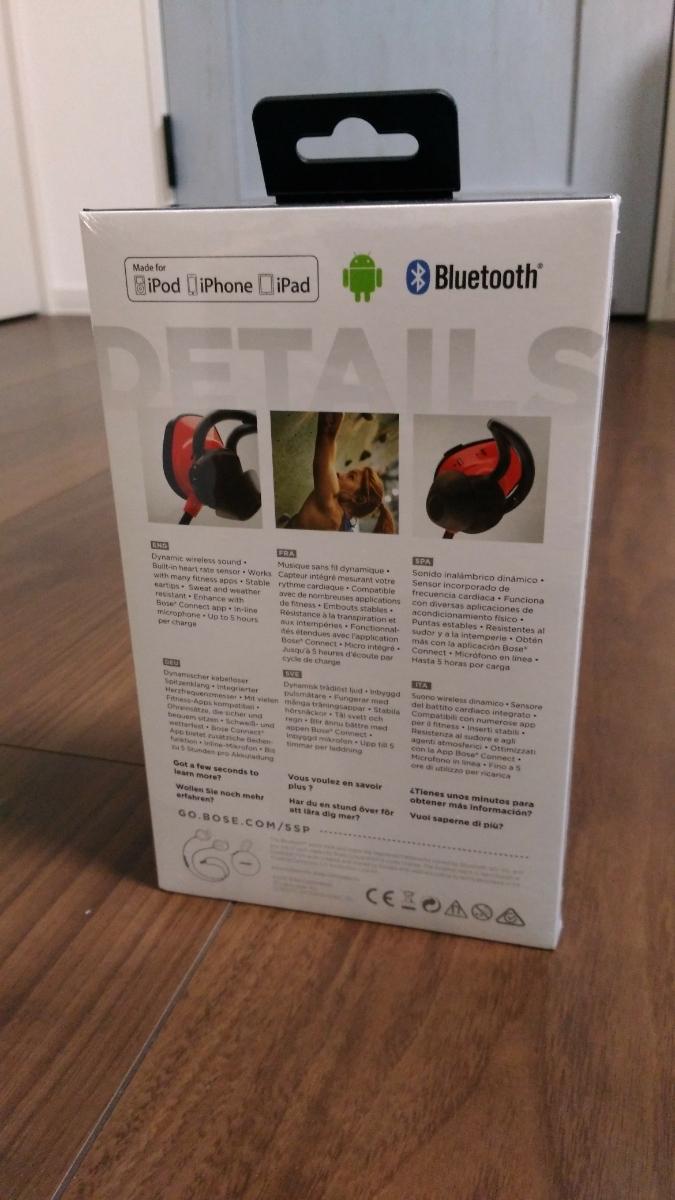 ☆新品☆未開封☆Bose SoundSport Pulse wireless headphones ワイヤレスイヤホン_画像2