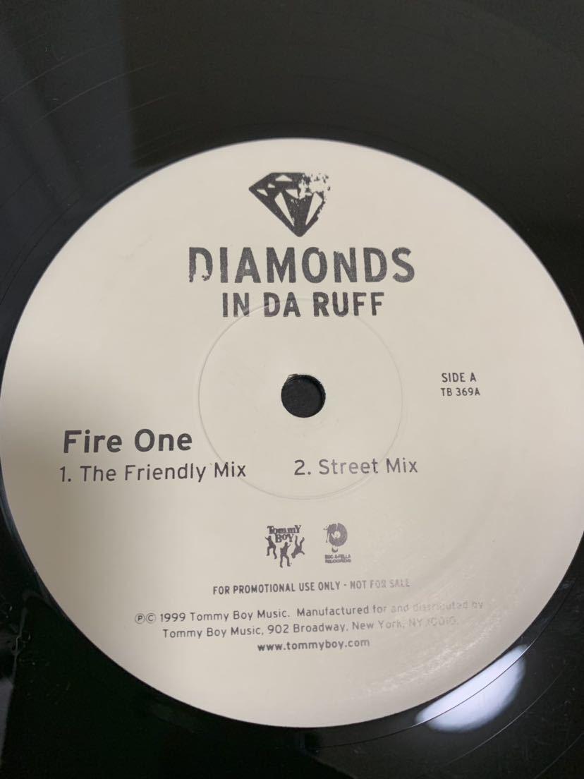★HIP HOP★ DIAMONDS IN DA RUFF / FIRE ONE tommyboy roc-a-fella_画像2