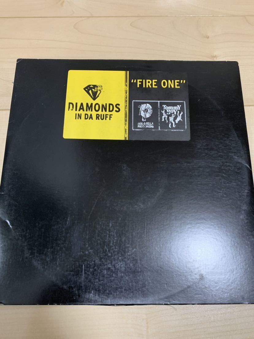 ★HIP HOP★ DIAMONDS IN DA RUFF / FIRE ONE tommyboy roc-a-fella_画像1