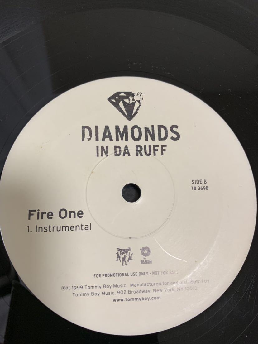 ★HIP HOP★ DIAMONDS IN DA RUFF / FIRE ONE tommyboy roc-a-fella_画像3