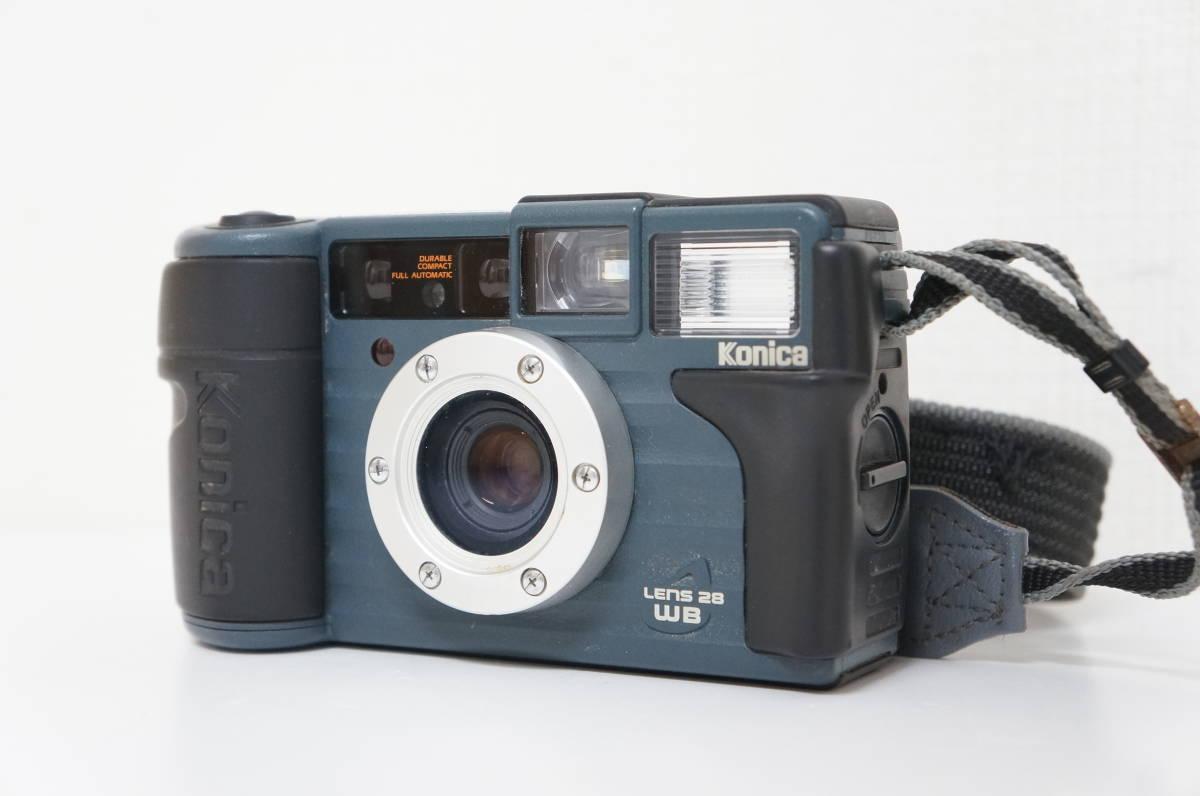 Konica コニカ LENS 28 WB 現場監督28 フィルムカメラ コンパクトカメラ A54_画像2