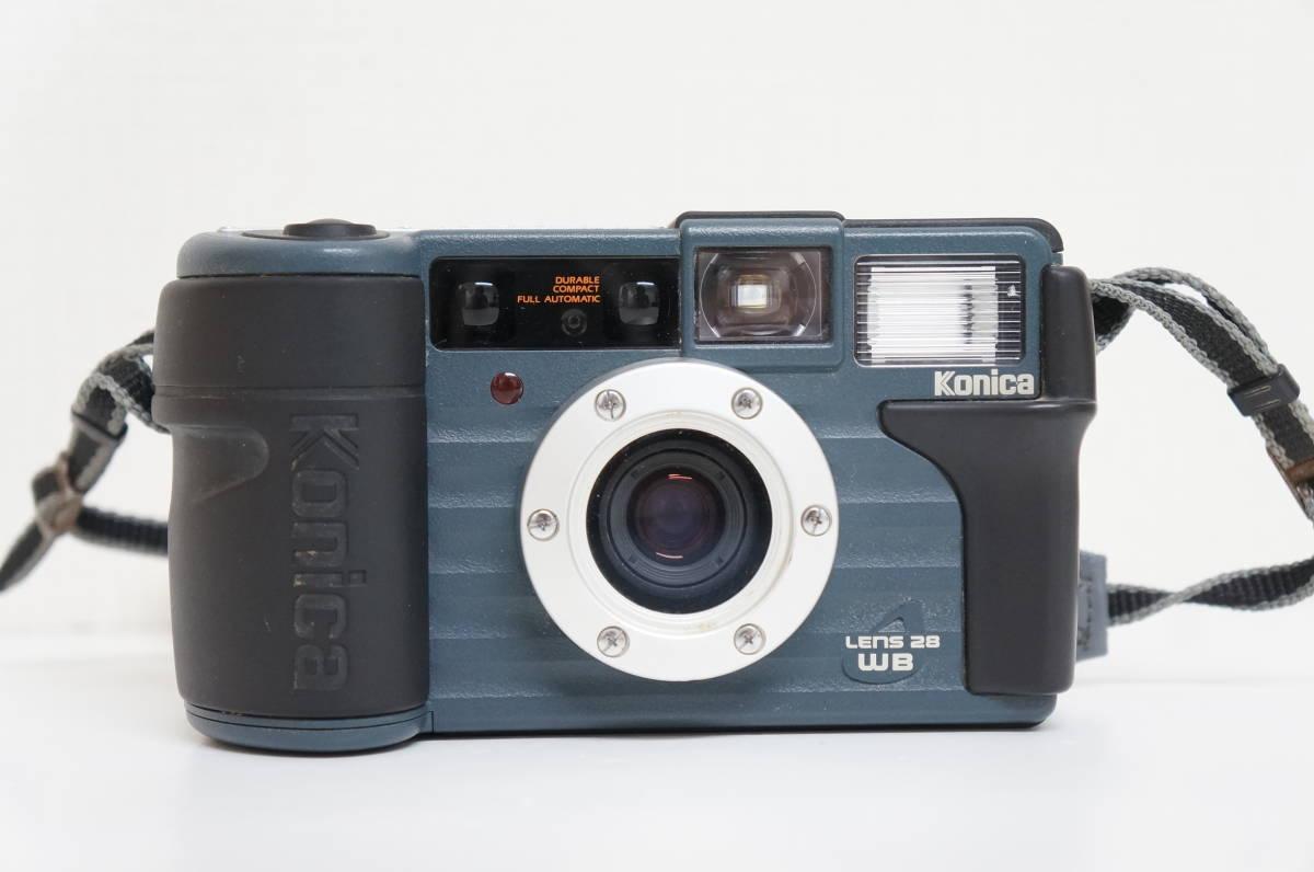 Konica コニカ LENS 28 WB 現場監督28 フィルムカメラ コンパクトカメラ A54