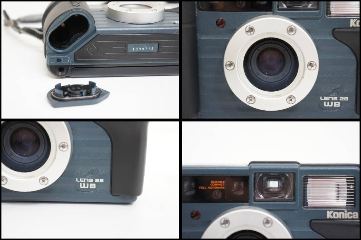 Konica コニカ LENS 28 WB 現場監督28 フィルムカメラ コンパクトカメラ A54_画像9