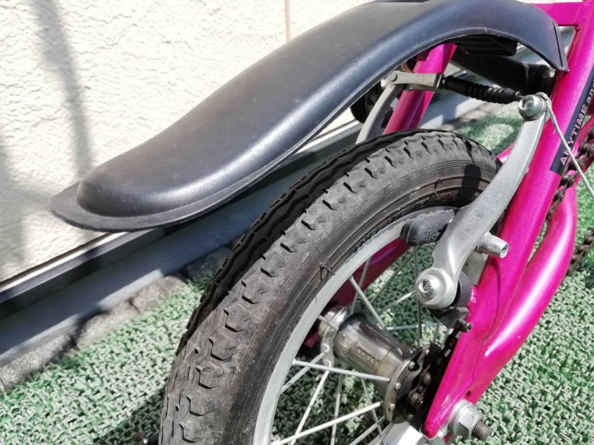 静岡発 I-MINIMO(アイ・ミニモ)折り畳み自転車 12インチ 直接引き渡し大歓迎!!_画像5
