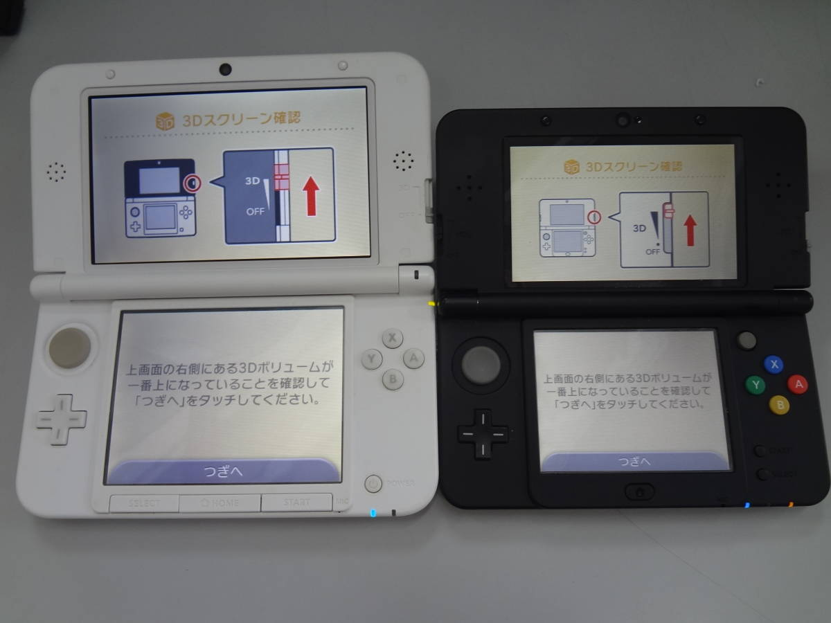 ニンテンドー new3DS/3DSLL(ディズニーモデル)/3DS/DSi/DSLite 本体のみ 6台セット 起動チェック・初期化済み 中古・ジャンク品_画像2