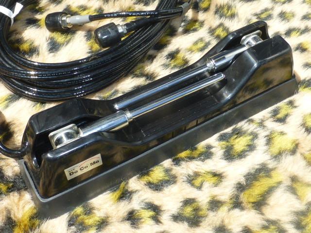 当時物 車内用 ドコモ 自動車電話アンテナ センチュリー GZG50 覆面パトカー 警護 プレジデント VIP ハイソ 120 130 クラウン デボネア_画像7