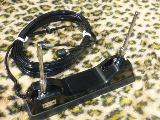当時物 車内用 ドコモ 自動車電話アンテナ センチュリー GZG50 覆面パトカー 警護 プレジデント VIP ハイソ 120 130 クラウン デボネア_画像6