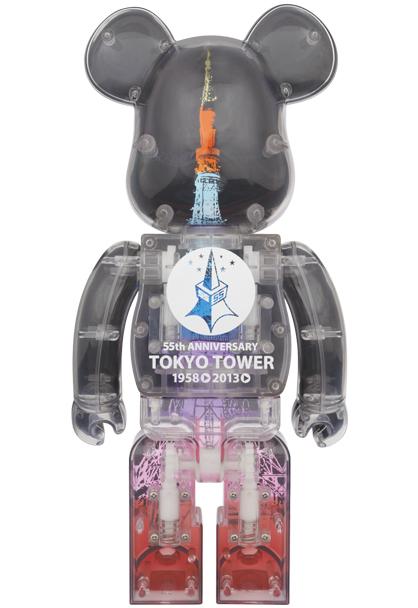 ■即決■新品■ 東京タワー BE@RBRICK DIAMOND VEIL Ver. 400% ダイヤモンドヴェール ベアブリック MEDICOMTOY TOKYO TOWER_画像2
