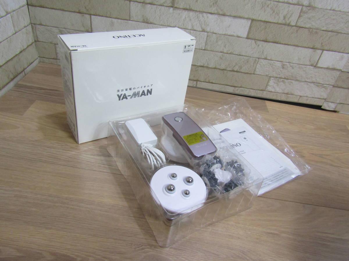 【美品】 YA-MAN/ヤーマン アセチノ メガシェイプDX IB-24V (W-3824)