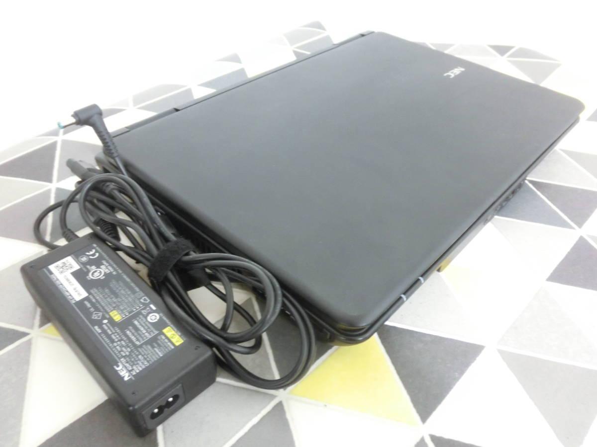 即使用可 【NEC 15型 ノートパソコン VersaPro VK25T/X-F PC-VK25TXZCF Windows10 】 Core-i5 電源アダプター付 M111_画像9