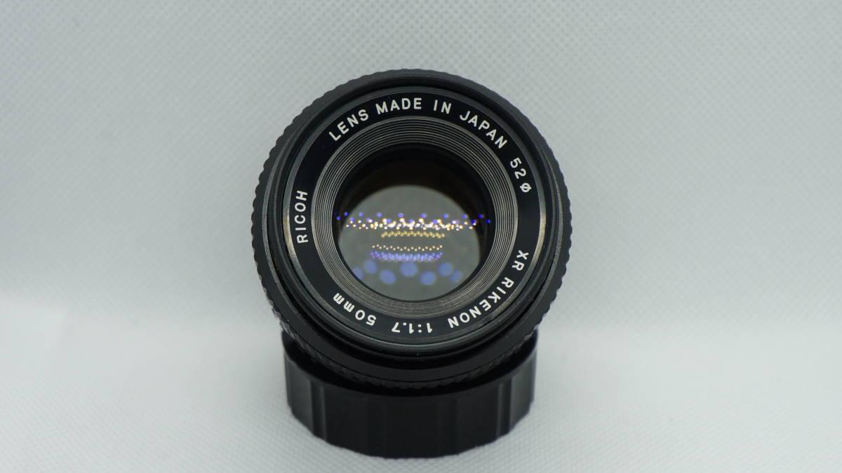 RICOH XR RIKENON 50mm f1.7 リコー リケノン P- Kマウント 良品  富岡光学拍卖