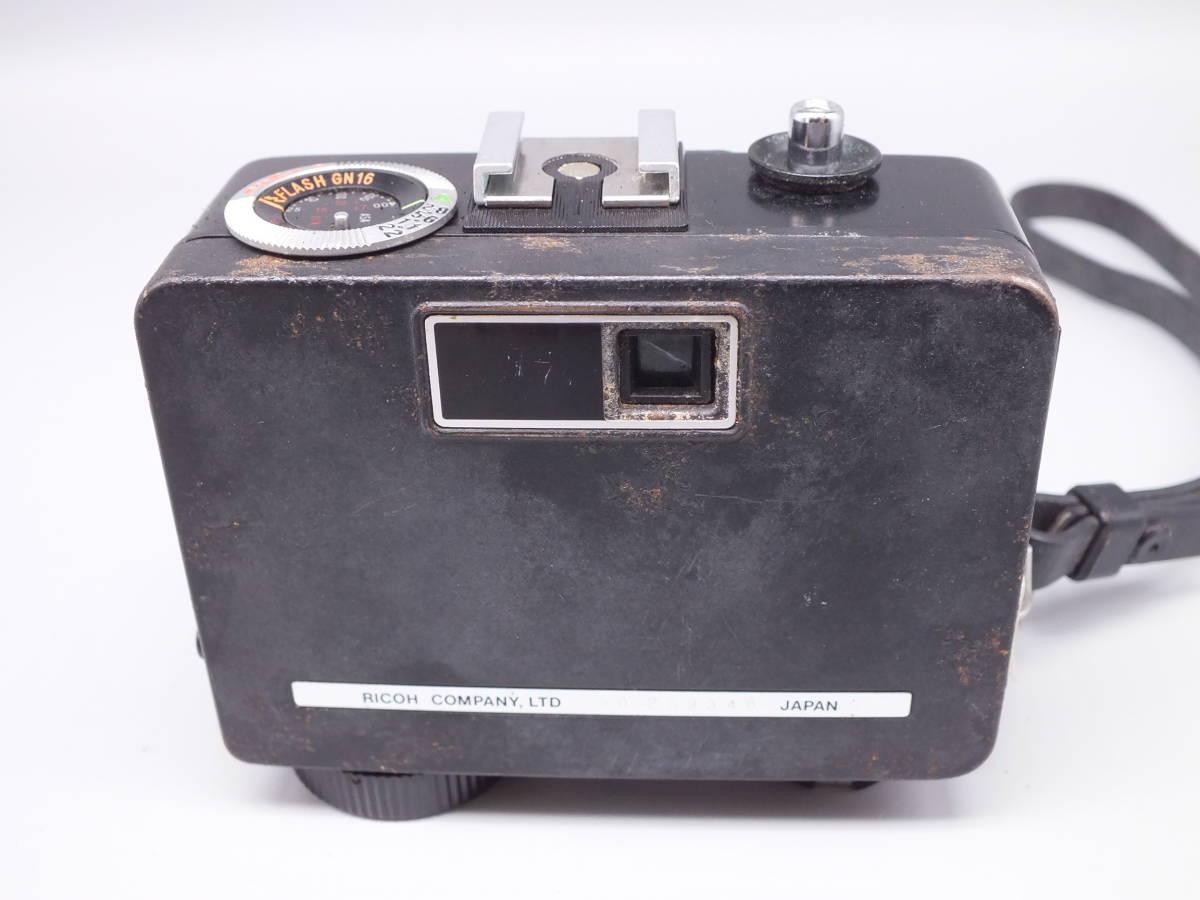 RICOH リコー/AUTO HALF オートハーフ SE2/フィルムカメラ/動作品/ケース付属/管D0514_画像3