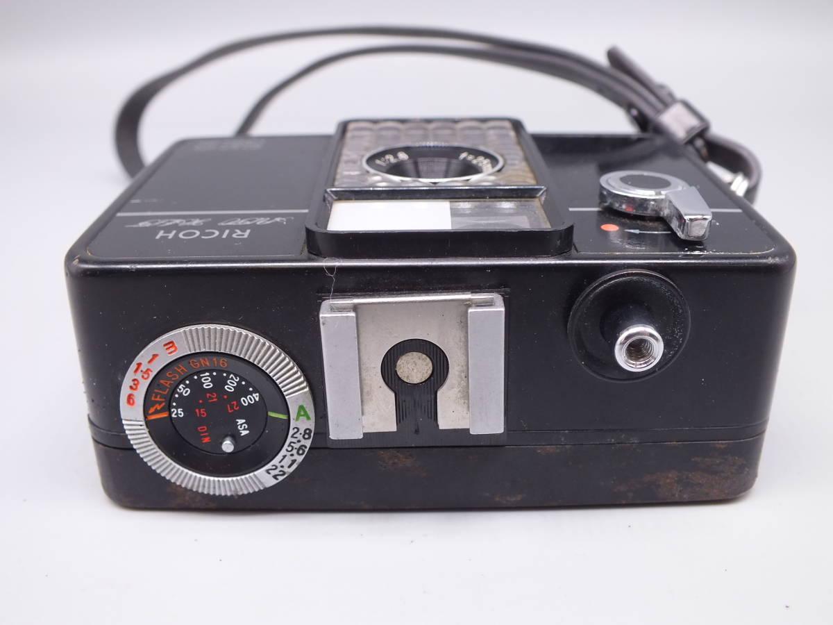 RICOH リコー/AUTO HALF オートハーフ SE2/フィルムカメラ/動作品/ケース付属/管D0514_画像5
