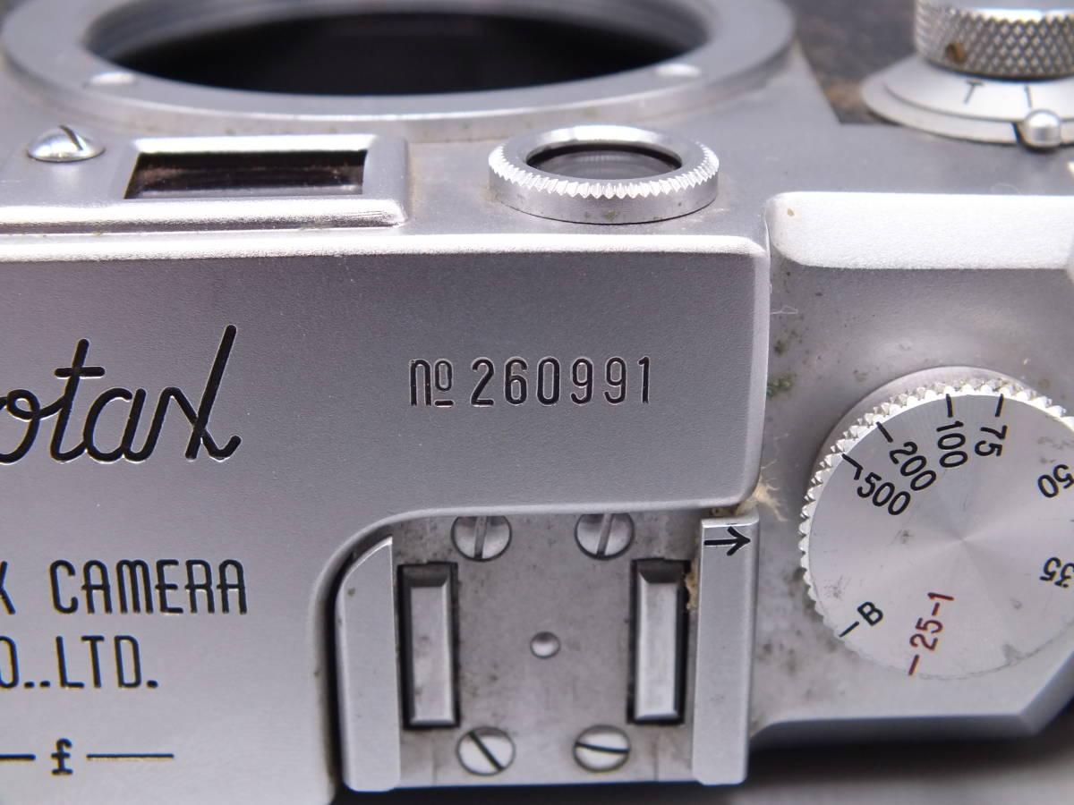 レオタックス LEOTAX/ボディのみ/レンジファインダー フィルムカメラ/動作品/管D0533_画像6