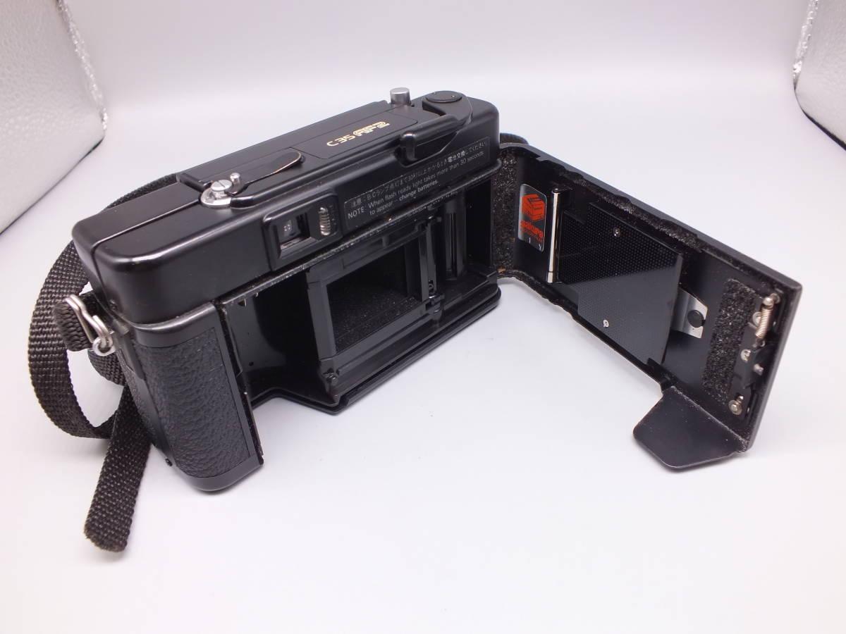 KONICA コニカ/C35 AF2/コンパクト フィルムカメラ/レンズ HEXANON 38mm F2.8/動作品/ケース・フィルター付属/管D0527_画像4