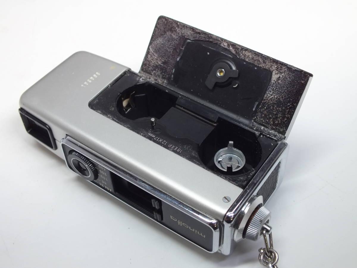 ミノルタ/Minolta 16 MG-S/ボディ・アクセサリー/色々まとめセット/フルセット??/シリアル一致保証書 ケース他付属/管Y0517_画像4
