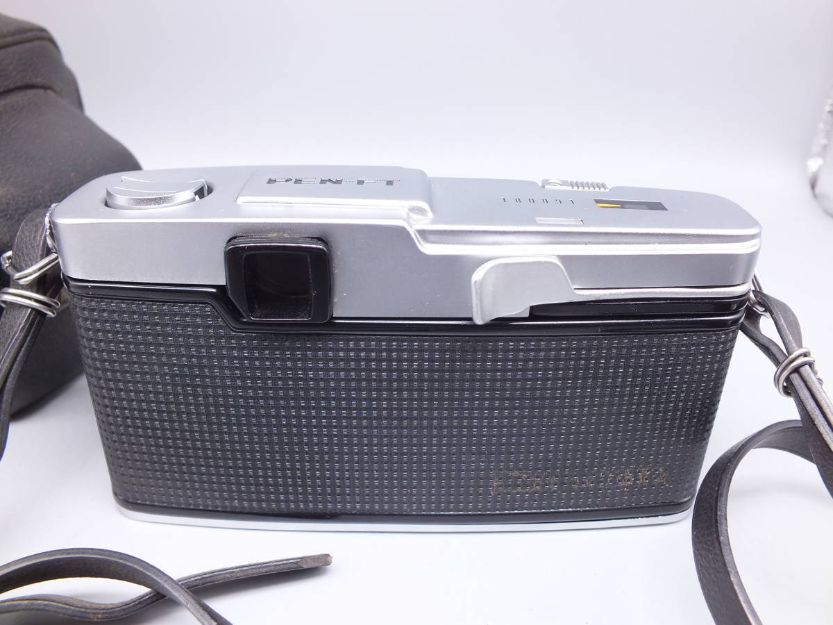 オリンパス/OLYMPUS-PEN F/レンズ F.Zuiko Auto-S 38mm 1:1.8/一眼レフカメラ フィルムカメラ/フード ケース フィルター付属/管F0513_画像7