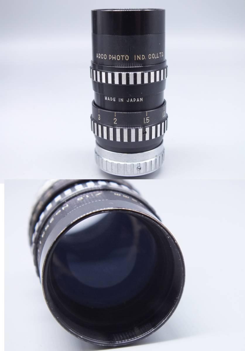 ARCO アルコ/Model CH-8/8mm CINE CAMERA/フィルムカメラ/シネカメラ/動作品/ゼンマイ/コレクション/取説 箱付属/管E0514_画像9
