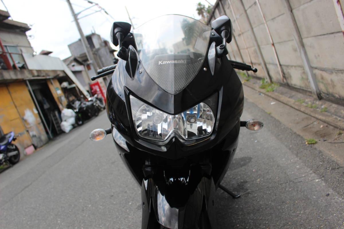 大阪~整備済み ニンジャ250R ノーマル車両 エンジン好調 即決有り お引き取り、全国陸送、フェリー発送OK!!検索CBR バリオス_画像3