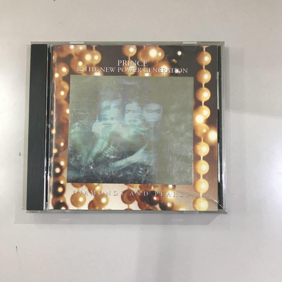 CD 中古☆【洋楽】PRINCE AND THE N.P.G/DIAMONDS AND PEARIS