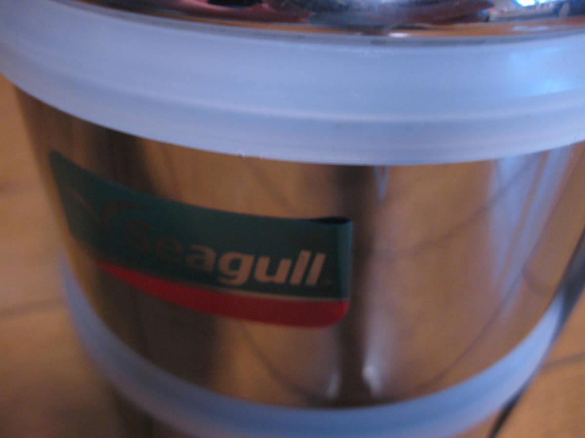 シーガル SEAGULL フードキャリア 2段 弁当箱  ステンレス ランチボックス_画像10