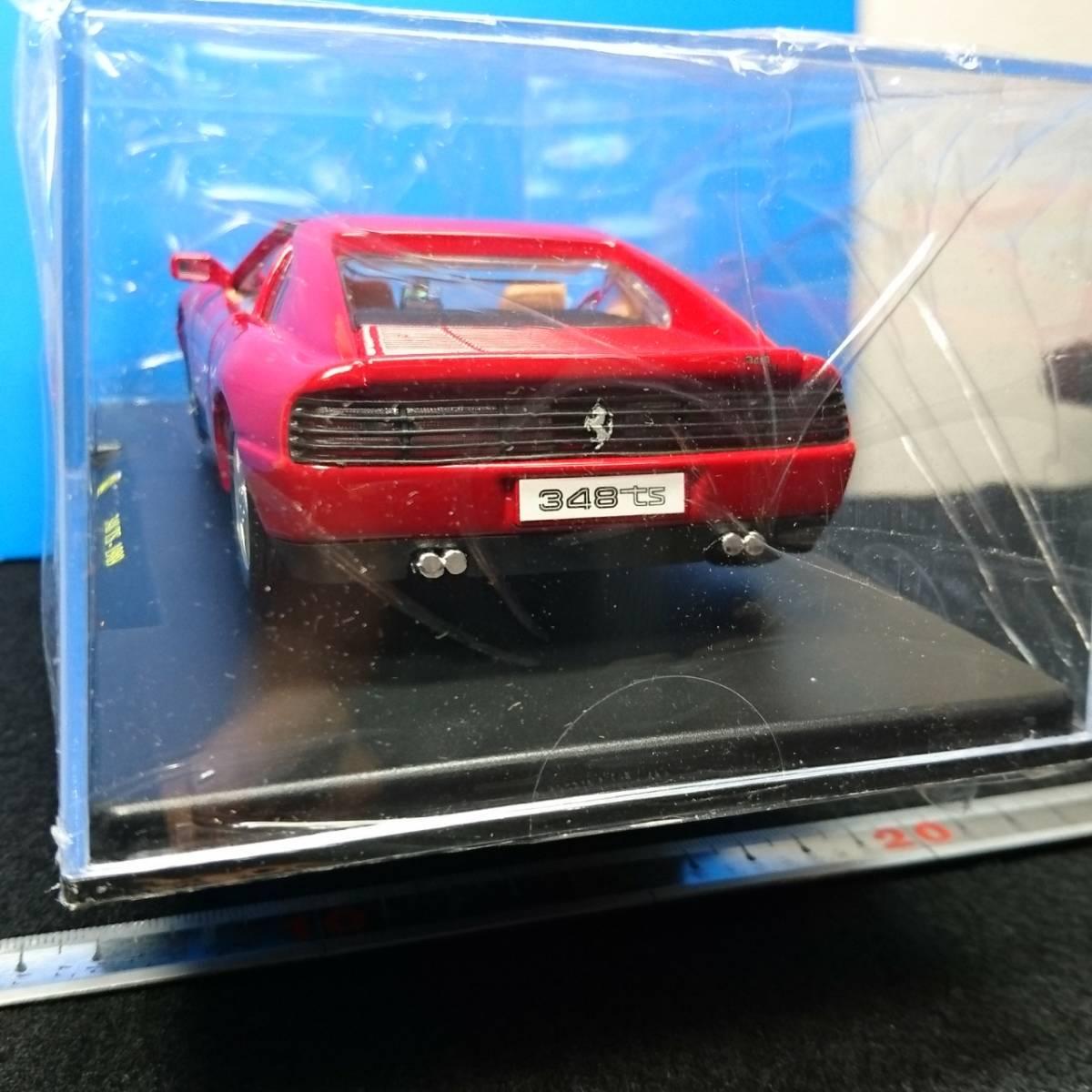 全品送料無料 1/24 Ferrari 348 TS RED (1989年式) 未開封 レ・グランディ・フェラーリ 同日落札品に限り全品同梱送料無料