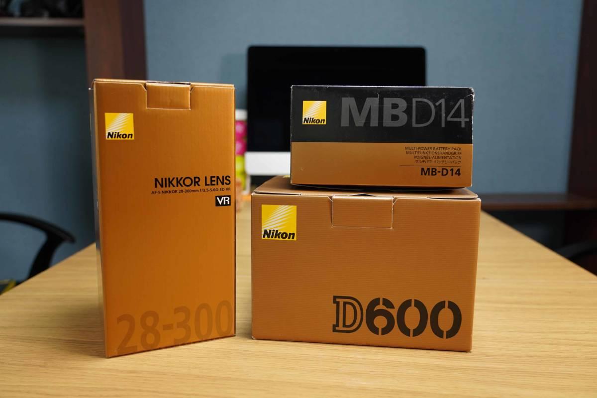 NIKON D600/NIKKOR 28-300mm/MB-D14 セットで。フルサイズ一眼入門に最適!_画像2