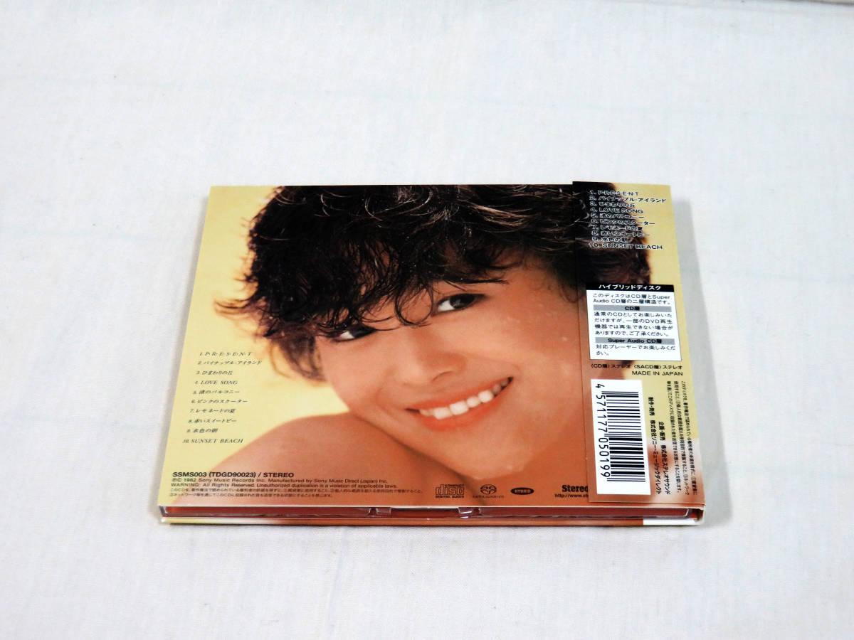 松田聖子 Pineapple Hybrid SACD パイナップル 帯付良品 盤面美品 送料込み 即決_画像3