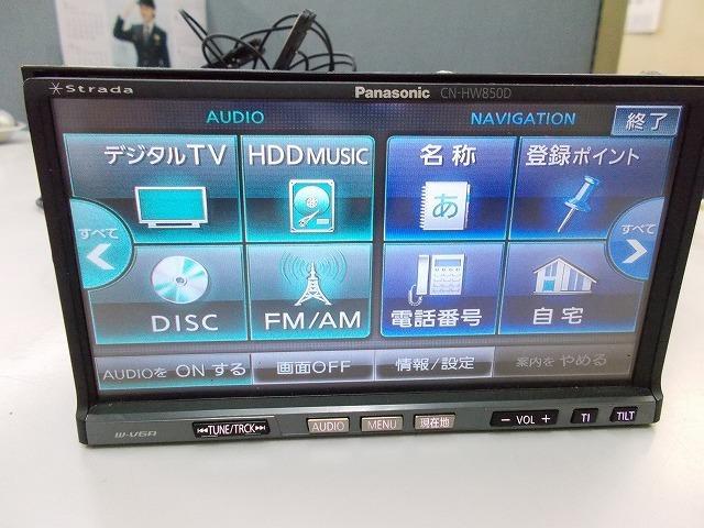 Panasonic ストラーダCN-HW850D多機能モデル!フルセグ 地デジ内臓 4x4 高画質 スマホUSB接続 iPod_画像6