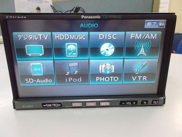 Panasonic ストラーダCN-HW850D多機能モデル!フルセグ 地デジ内臓 4x4 高画質 スマホUSB接続 iPod_画像5